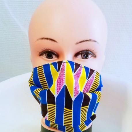 Masque 100% coton WAX (Rouge)